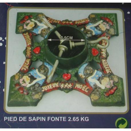 PIED DE SAPIN FONTE 2KG65