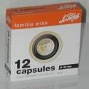 BTE 12 CAPSULES FAMILIA WISS D110 noire
