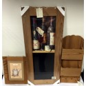 LOT 3 PIECES CADRE WHISKY