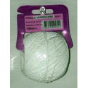 BL FICELLE ALIMENTAIRE POLY BLANCHE 100M