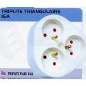 BL FICHE TRIPLITE triangle   3X16A