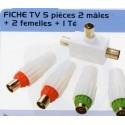 BL FICHE TELEVISION 5P  2M+2F+1T