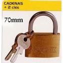 CADENAS 70mm+2 CLES